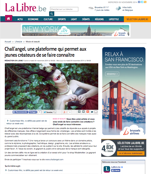 article LA LIBRE